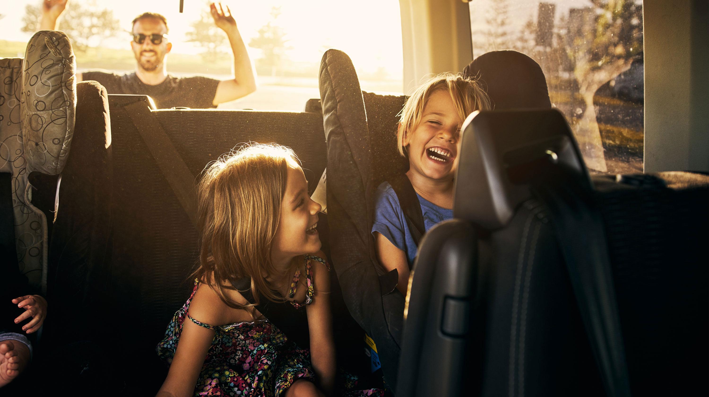 kids in the backseat