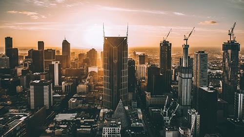 city skycrapers