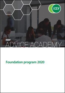 Foundation Program 2020 brochure